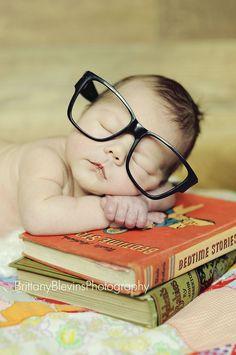 baby bookworm (sigh)