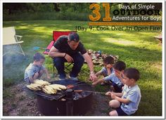 Tips and Tricks for Cooking Over An Open Fire {Simple Outdoor Adventures for Boys} || 4tunate.net