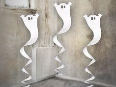 Swirl Geist, weiss, 90 cm - Halloween Dekoration