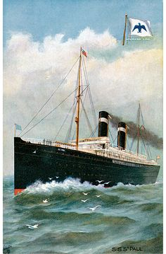 SS Paul - photo from Dover books