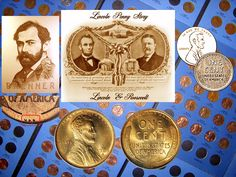 "Did You Know... Roosevelt considered Lincoln the savior of the Union, so he ordered a new ""Lincoln penny"" based on sculptor, engraver, and medalist, Victor David Brenner's work, and that it be produced to commemorate Lincoln's 100th birthday in 1909. The first Lincoln pennies prominently displayed the initials of the artist, ""VDB"" at the base of the reverse. Responding to public outcries that this was tasteless self-advertisement, production was halted after only 484,000 coins where struck."