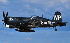 (Modex #5) Vought F4U-5N Corsair (Bu 124692) Code (NP) Radar Night Fighter, Fitted with a AN/APS-6 Intercept Radar and Four 20mm M2 Cannons - Owned by the Collings Foundation, Stow, Massachusett (6)