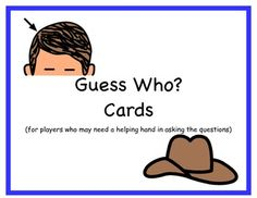 Guess Who? Cards