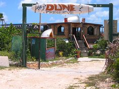 One of the coolest beach bars on the island, The Dune Preserve is owned by famous reggae artist, Bankie Banx. | Anguilla Beaches