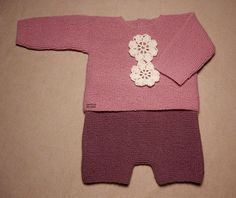 Explicación pantalón corto sencillo para bebé – El castillo de lana Knitting For Kids, Knit Crochet, Rompers, Sewing, Lana, Clothes, Dresses, Instagram, Ideas