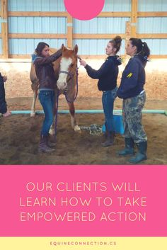 By interacting with our horses, our clients will learn how to take empowered action, try new behaviours and connect with their passionate selves. There is no BS - only clear answers. Horses respond to our authentic selves. They are always honest and they cannot judge. This is why they are the best teachers! #equineconnection @ealacademy