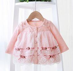 Retail 2016 outono recém nascido vestido do bebê / macio e bonito floral lace princesa infantil vestido Baby girls dress mel roupas de bebê rosa em Vestidos de Mamãe e Bebê no AliExpress.com | Alibaba Group