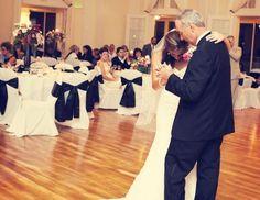 Wedding Dance Etiquette For Absent Parents. #weddings #dances #deceased #parents