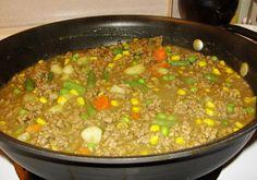Hamburger Curry Stew