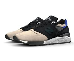 Set the trend in a style all your own. The 998 is a retro look with a modern attitude - and it's arguably one of the most trendsetting silhouettes in our iconic 990 series. Mix and match mesh and premium suede to keep it classic, or give it a fresh look. The 998 fashion trend is all yours.