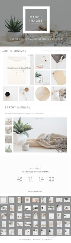 Stock Image Bundle | Minimalist by TwigyPosts on @creativemarket