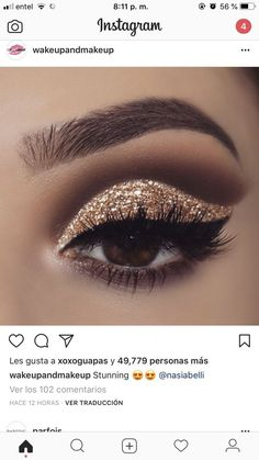 de Rostro – base de maquillaje correctores… of Face – concealer makeup base … Makeup – Eye Makeup Glitter, Prom Eye Makeup, Red Lip Makeup, Eyeshadow Makeup, Bridal Makeup, Wedding Makeup, Glitter Lipstick, Gold Eyeshadow, Glitter Hair