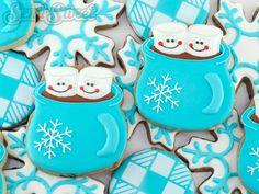 Hot Chocolate Mug Cookies | Community Post: 18 Stunning Christmas Cookies…