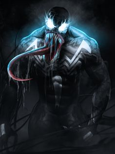 Venom By Bosslogic Venom Comics, Agent Venom Marvel, Marvel Comics, Venom Wallpaper, Film Venom, Venom Character, Xmen Apocalypse, Comic Villains, Greatest Villains