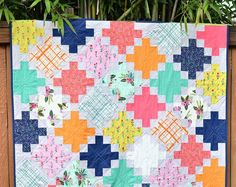 After I received the June Culcita Box , I knew exactly what I wanted to make with the fabric. Meriwether was designed by Amy Gibson and I h...