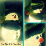 Linked to: justdipitinchocolate.blogspot.com/2012/11/pancho-de-nievefrank-our-snowman.html