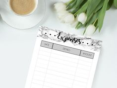 Hey, I found this really awesome Etsy listing at https://www.etsy.com/ca/listing/509796229/printable-marble-planner-pages-expenses