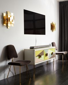 An Artful Living Room. This Jonathan Adler Designed Space Features The LG  Signature OLED Smart