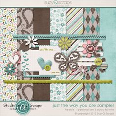 6 Guest Freebies:  Free Digital Scrapbook Goodies From Various Designers: About our Guest Freebies:   We enjoy sharing g...
