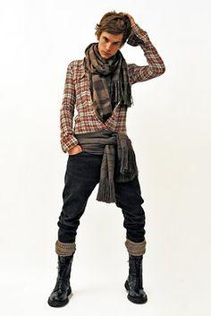 Fabiola Michele: Balmain Men's Collection Autumn/Winter 2011