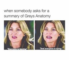 Most Funny Quotes :25 Funny Greys Anatomy memes