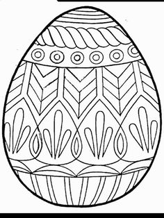 Zendoodle Easter Egg Coloring Pages | Pinterest | Easter, Egg and ...