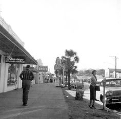 Florida Memory - Main Street shops - Fort Walton Beach, Florida 1960
