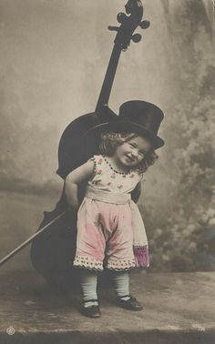 lovely vintage child's photo