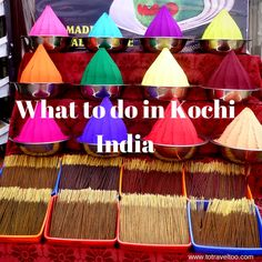 Kochi a melting pot of cultures, flavours, ancient buildings and churches, bustling trading streets, a city of rich colourful heritage.