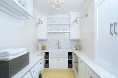 Pasadena Showcase House of Design 2014 - transitional - Laundry Room - Los Angeles - Luxe Design Build