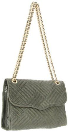Rebecca Minkoff Affair Light Gold Hardware H329I03C Shoulder Bag,Sage,One Size,$425.00