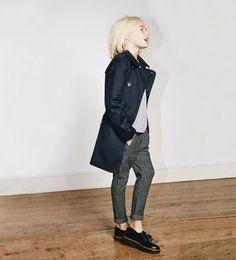 ZARA - KIDS - Herringbone trousers