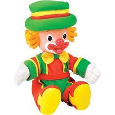 Boneco Multibrink Patati Patatá - Patatá, lindo boneco em miniatura do palhaço Patatá, para a diversão das crianças.    Patati Patatá são a dupla de palhaços que conquistou o coração das crianças com roupas alegres e músicas empolgantes.