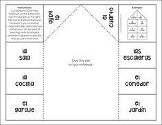 Los Pronombres y el verbo SER Interactive Notebook