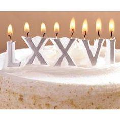 Roman Candles #birthday