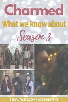 In our blog post, we tell you Everything we know about the upcoming Charmed Season 3 On The CW | You're a fan of the fantasy drama Charmed and you can't wait for the show to return on January 2021? So check out our blog post on everything about Charmed Season 3: news, cast, plot, spoilers, S2 Recap, etc. For more about TV and book series, click the link in bio   Follow us | SerialTwinz.com | @Serialtwinz on social | #Charmed #TVShows #TheCW #Witches #CharmedSeason3