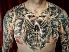 Carl Grace Tattoos