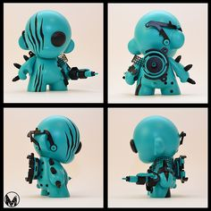 Masonic Munny Robots by Joshua D Mason - Kidrobot's Miami Store Exclusive Collection. released May 13th, 2013