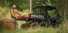"""New 2017 Can-Am Defender HD5 ATVs For Sale in Mississippi. <p style=""""margin-bottom: 1em;"""">When we engineered the Can-Am Defender, we pulled out all the stops. We made it tough, capable and clever to excel at everything you demand of it. You'll feel the difference as soon as you sit in and pull away.</p>"""