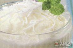 Receita de Frozen iogurte de abacaxi - Comida e Receitas
