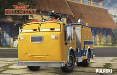 Meet the Characters in Disney's Planes: Fire & Rescue Plus Watch the Newest Trailer Disney Cars, Disney Stuff, Disney Movies, Disney Planes Characters, Cars 2 Movie, Disney Insider, Air Fighter, Walt Disney Animation, Walt Disney Pictures