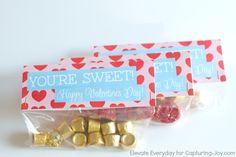You're Sweet, Happy Valentine's Day Printable - Capturing Joy with Kristen Duke