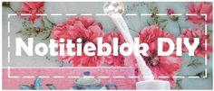 Glitteress: DIY en review: notitieblok van de Action