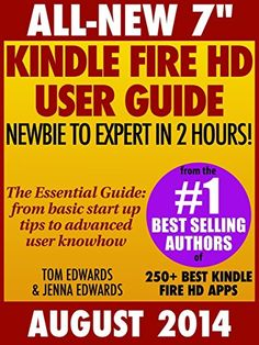 """All New 7"""" Kindle Fire HD User Guide... (bestseller)"""