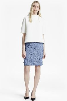 8dde4ce03ad French Connection Floral Skirt Skirts For Sale, Cotton Blouses, Office Wear,  Slacks,
