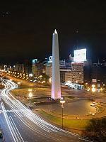 Obelisco centro de Capital Federal- Buenos Aires