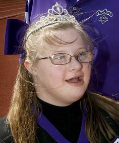 Students at Park Hill South High in Kansas City chose Allyssa Brubeck to be their homecoming queen.