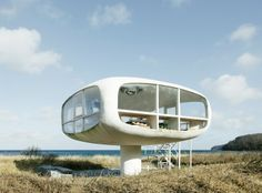 Ulrich Müther, beach house.