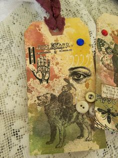 Altered Art Tag