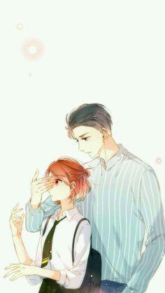 Natalie and Kyoya or Mori Couple Anime Manga, Manga Anime, Anime Love Couple, Cute Anime Couples, Manga Art, Manhwa Manga, Manga Romance, Fille Anime Cool, Manga Love